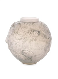 formose vase by rené lalique