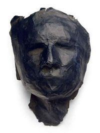 untitled (mask) by sylvia plimack mangold