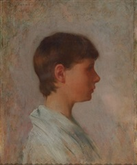 profile of a young man by kenyon c. cox