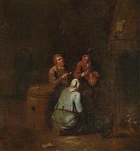 tavern scene by egbert van heemskerck the elder