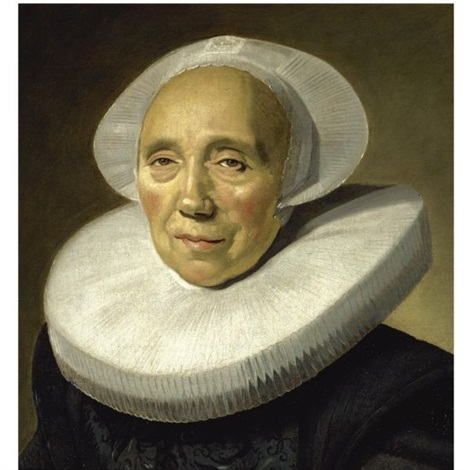 portrait of an old woman by frans hals the elder