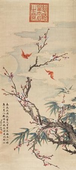 梅竹双清 by empress dowager cixi