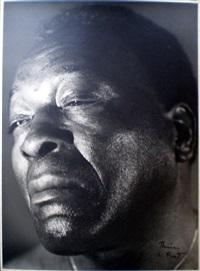 portrait de jazzman (2 works) by therese le prat