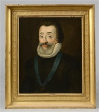 portrait d'henry iv by french school (17)