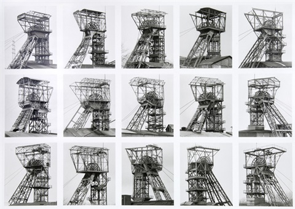 fördertürme winding towers by bernd and hilla becher