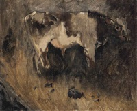 study of a bullock by william coldstream