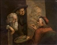 autoportrait dans son atelier by jean-jacques de boissieu