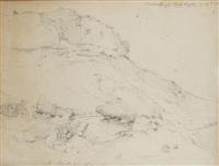 auf der isle of wight by andreas achenbach