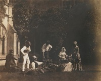 the fruit sellers by william henry fox talbot