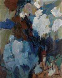 gathering storm (blue landscape) by hale aspacio woodruff