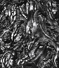 volcano lava by brett weston