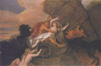 the rape of proserpina by louis galloche