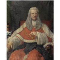 portrait of john duke coleridge, 1st baron coleridge (1820-1894) by eden upton eddis