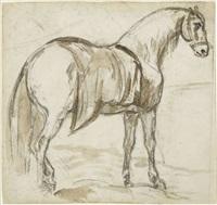 cheval de hanovre by théodore géricault
