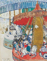 two merry-go-rounds by frances mary hodgkins