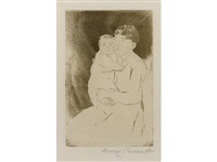 nurse and baby bill (no. 2) by mary cassatt