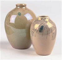 2 vases by st. lukas