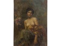 nudo femminile by rinaldo agazzi