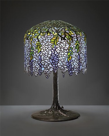 wisteria table lamp by tiffany studios