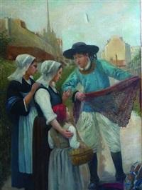 le vendeur de dentelles by marguerita pillini