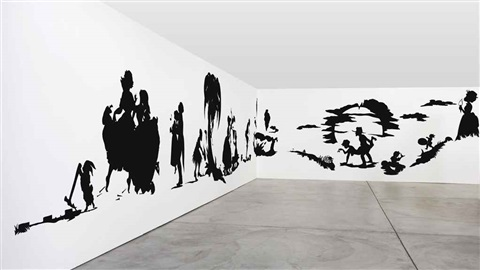 africant in 42 parts by kara walker