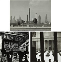 selected images of chicago (3 works) by walker evans