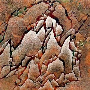 裂变山水 landscape by qiu deshu