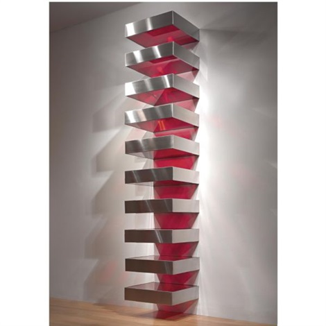 untitled in 10 units by donald judd