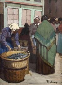 les femmes au marché en amérique latine by fernand piet