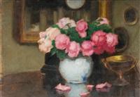 róże ze złotym pucharkiem by alfons karpinski