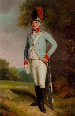 portrait of john 5th baron farnham pc colonel of the cavan militia by samuel de wilde