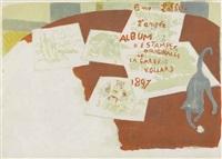 couverture du 2me album d'estampes originales by pierre bonnard