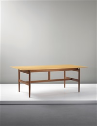 worktable, designed, executed 1952 by finn juhl