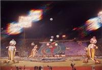 cérémonie d'ouverture des jeux olympiques de moscou by iouri abramochkin