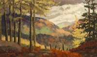 wicklow scene by mabel young