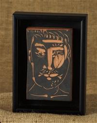 visage d'homme (man's face) by pablo picasso