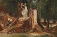 waldstück by alexandre calame