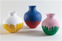 coloured vases (in 3 parts) by ai weiwei