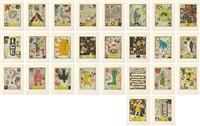 max and gaby's alphabet portfolio (set of 27) by tony fitzpatrick
