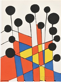 untitled (balloons) by alexander calder