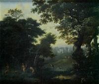 diane et actéon by nicolaes de vree