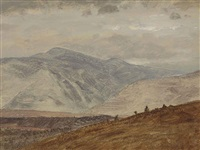 view of kaaterskill clove, new york by frederic edwin church