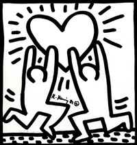 shafrazi by keith haring