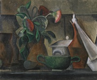 nature morte au bouquet de fleurs by pablo picasso