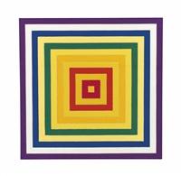 6. scramble: ascending yellow values/descending spectrum by frank stella