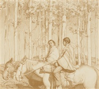 the hunters by ernest martin hennings