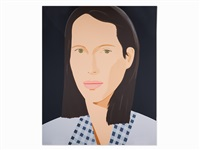 christy (turlington) by alex katz