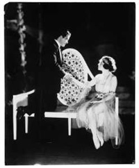 the love letter (john charles thomas und carolyn thomson im broadway-musical the love letter) by james abbe