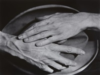 jean cocteau's hands by berenice abbott