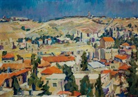 noontime in jerusalem by aaron april
